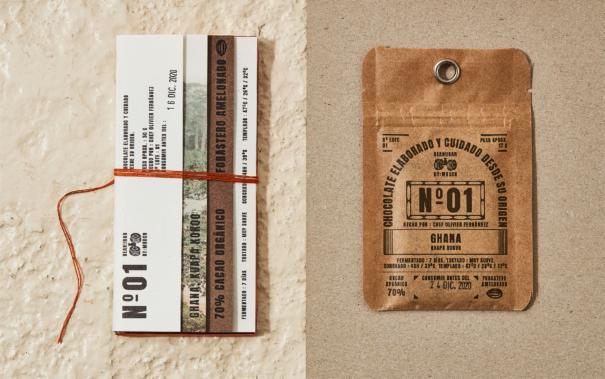 Bean to Bar packaging